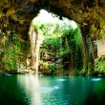Ik-Kil Cenote, Chichen Itza, Mexico...
