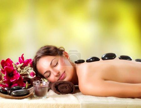 spa salon stone massage dayspa