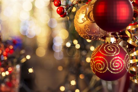 Photo for Christmas and New Year Decorations - Royalty Free Image