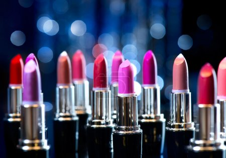 Fashion Colorful Lipsticks.