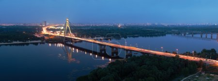 Moscow bridge Kiev Ukraine
