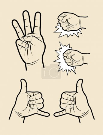 Hand signs 5