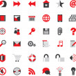 Web site icons big vector set...