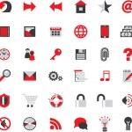 Web site icons big vector set...