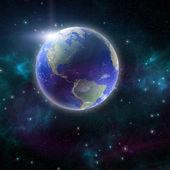 Prohlédni na zemi z vesmíru, Severní a Jižní Amerika
