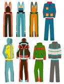 Men's ski suits