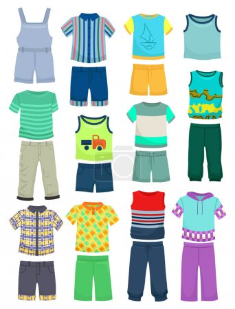 Summer clothes for little boys