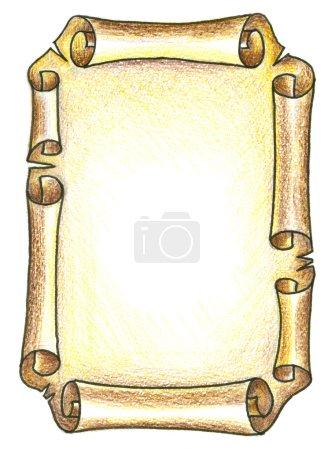Photo pour Ancienne carte - image libre de droit