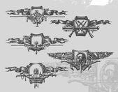 Heraldry Vector illustration