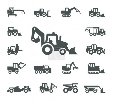 Illustration for Construction equipment - Royalty Free Image