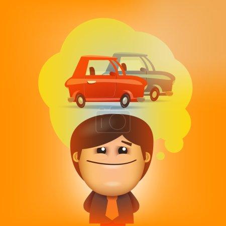 Illustration pour Homme d'affaires. Format vectoriel - image libre de droit