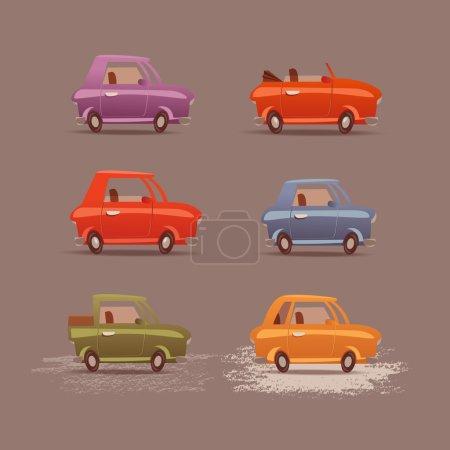 Cars. Vector format