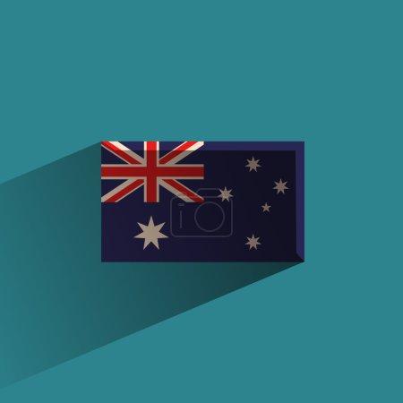 Australia. Vector format