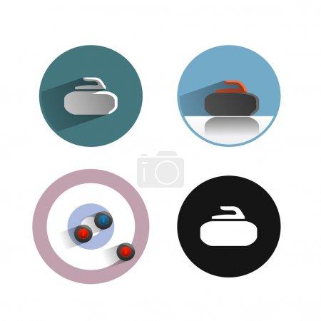 Curling.Vector format