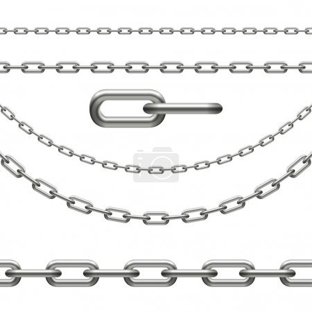 Chain - infinity, curved, link