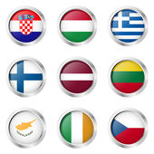 Country - Stickers: Ireland Greece Finland
