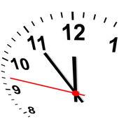 Clock 3D - eleven fifty-five