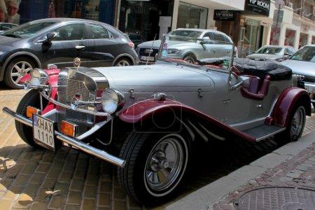 Retro car Mercedes Benz