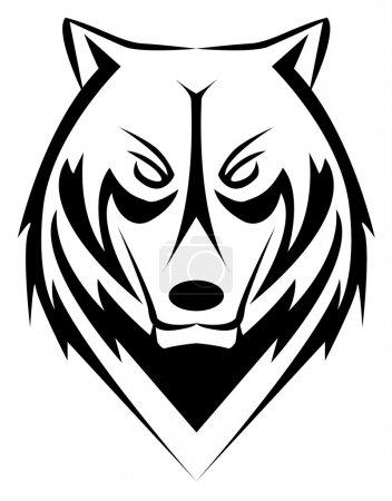 Wolf tattoo...