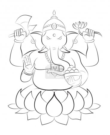 Ganesha vector