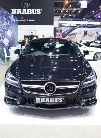 Брабус автомобиль на дисплее