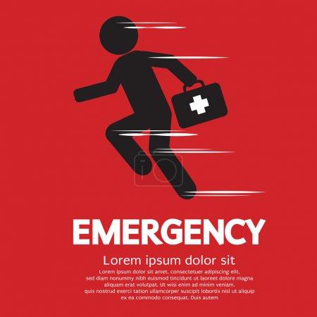 Illustration pour Illustration vectorielle du concept d'urgence - image libre de droit