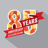 85th Years Anniversary Celebration Design