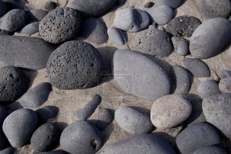 Abstract background of stones and sand