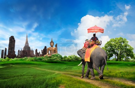 Thailand travel concept...