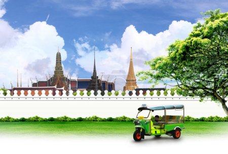 Photo pour Thaïlande Voyage concept de fond - image libre de droit