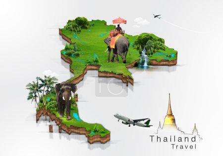 Photo pour Thaïlande concept de voyage - image libre de droit
