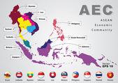 ASEAN Economic Community AEC concept