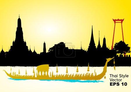 vector of thailand