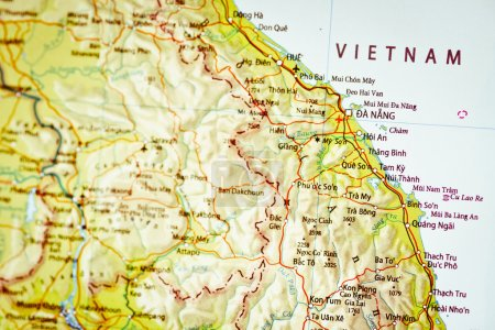 Photo for Map of Vietnam - Royalty Free Image