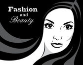 Beauty in black and white - Illustration