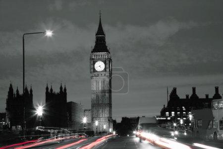 Photo pour Big Ben à partir de Westminster Bridge - image libre de droit