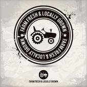 alternative farm fresh & locally grown stamp