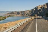 Washington Route 14 in Columbia River Gorge
