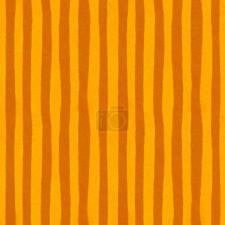 Orange lines seamless pattern