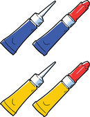 Super glue tube
