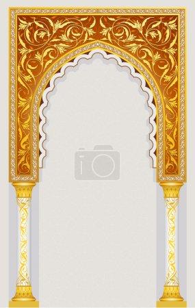 Islamic arch design