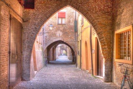 Via delle volte - Ferrara (Italy) - Vault's street