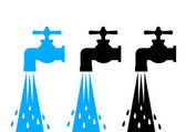Water tap icons