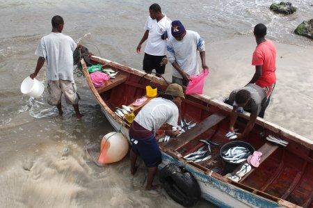 African fishermen.