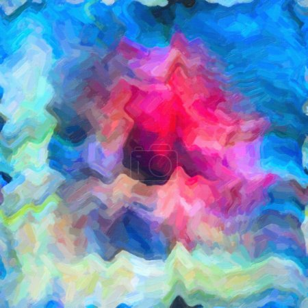 Abstract background on textured canvas