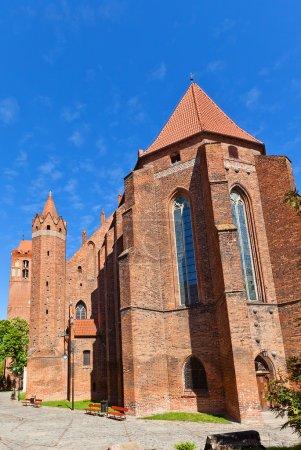 Saint John Cathedral (1384) in Kwidzyn town, Poland