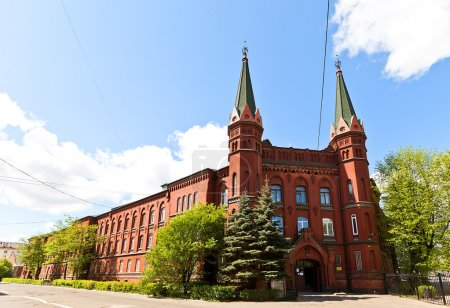 Nautical School (former St George Hospital, 1897), Kaliningrad,