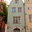 Постер, плакат: Green Brother house XVII c of Three Brothers complex in Riga