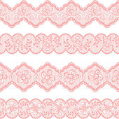 Vintage lace background ornamental flowers Vector texture