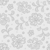 Seamless lace pattern flower vintage vector background